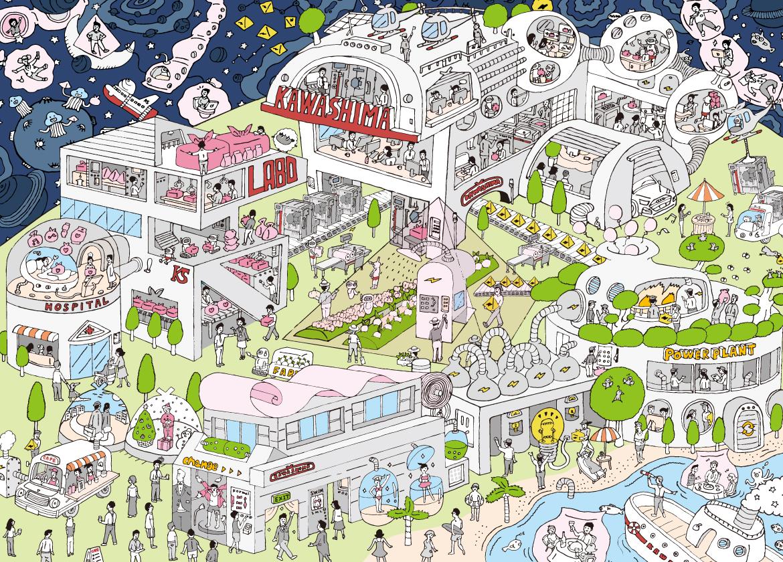 KAWASHIMA'S FUTURE MAP